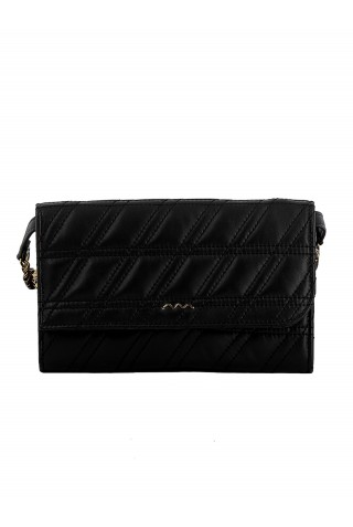 ZANELLATO 51292-45-02 WOMEN'S BLACK LEATHER WALLET