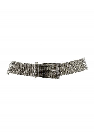 B-LOW THE BELT BW143 030Q WOMEN'S SILVER BELT