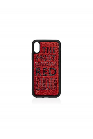 CHRISTIAN LOUBOUTIN LOUBISEQUINS CASE IPHONE X/XS
