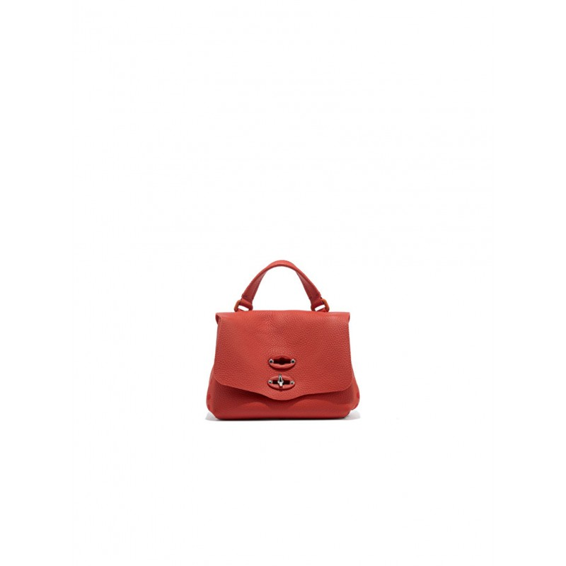 ZANELLATO 6263-P6-18 WOMEN'S ROSSO MONFERRATO LEATHER SHOULDER BAG