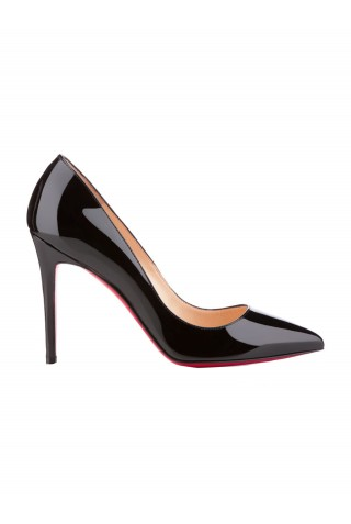 CHRISTIAN LOUBOUTIN 3080680 BK01 WOMEN'S BLACK PATENT LEATHER PUMPS