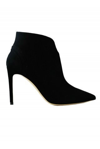 NINALILOU 302620NA/1 BLACK SUEDE ANKLE BOOTS