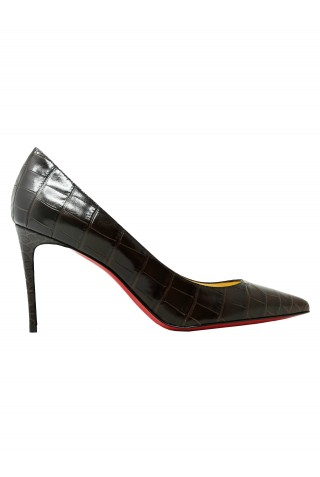 CHRISTIAN LOUBOUTIN 3200067 BW1F BROWN KATE 85 PUMPS