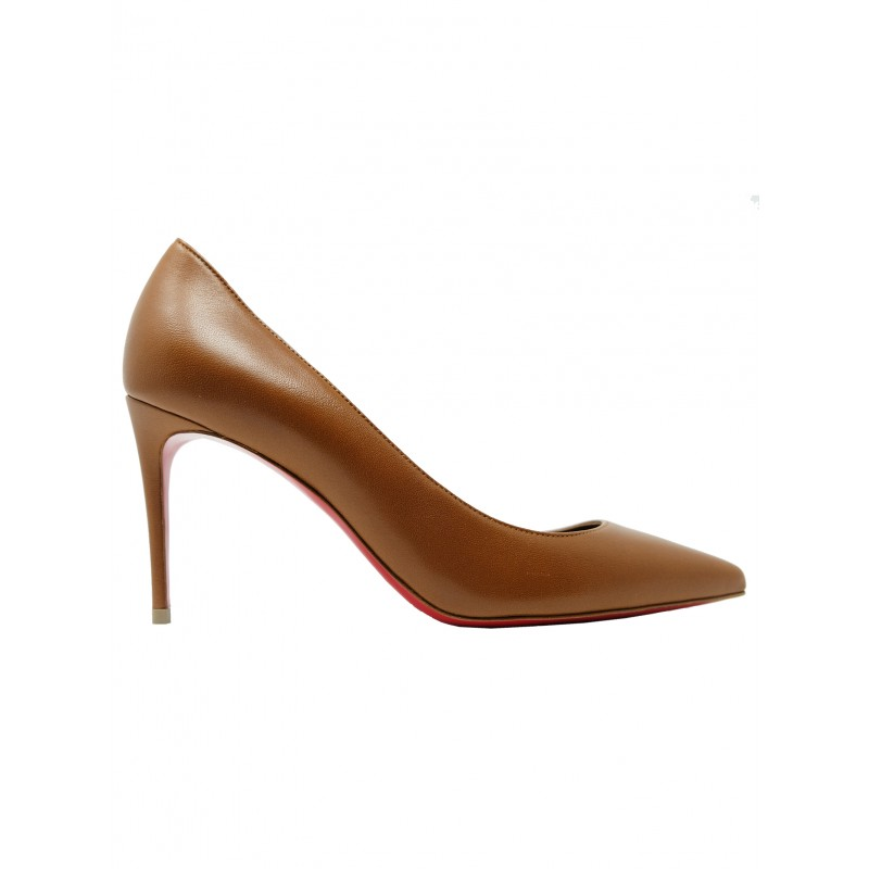 CHRISTIAN LOUBOUTIN 1210665 N248 NUDE 5 KATE 85 PUMPS