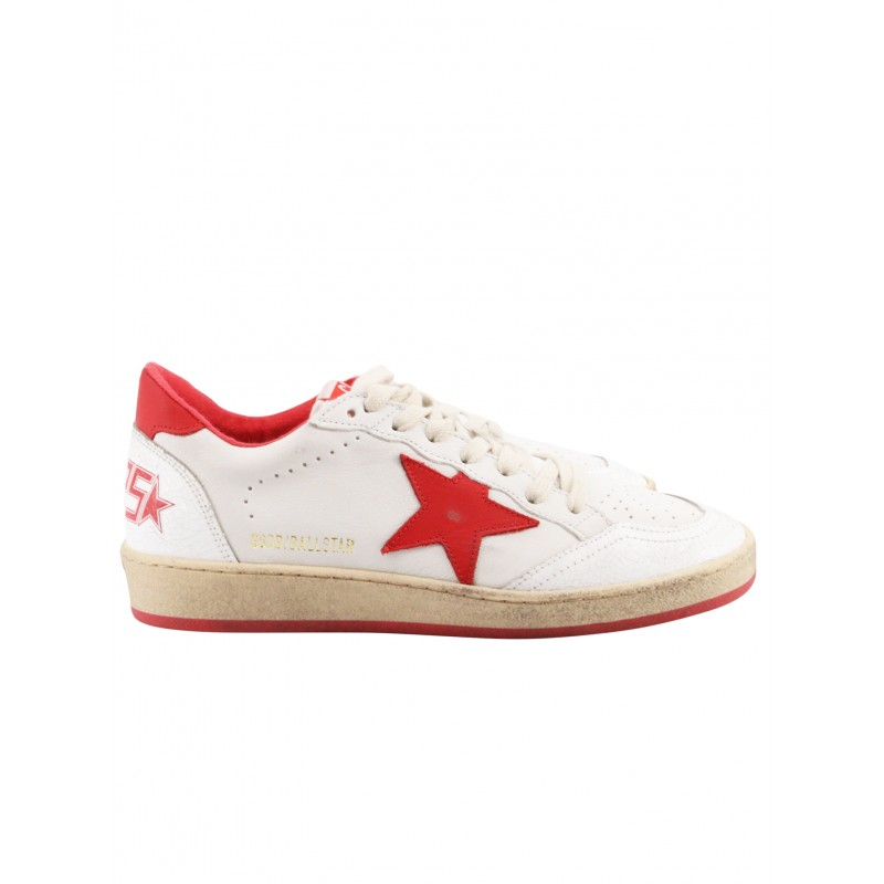 GOLDEN GOOSE GWF00117.F000325 BALL STAR LEATHER SNEAKERS