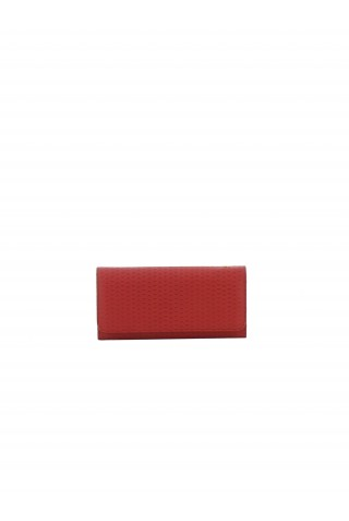 ZANELLATO EMBOSSED TEXTURED LEATHER CONTINENTAL WALLET