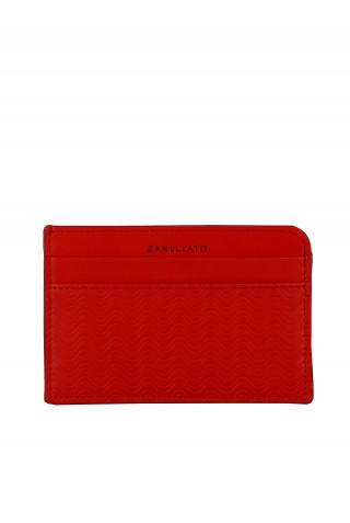 ZANELLATO 51279-63-Z3 WOMEN'S CARDINALE LEATHER WALLET