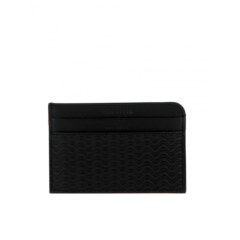 ZANELLATO 51279-63-02 WOMEN'S BLACK LEATHER WALLET