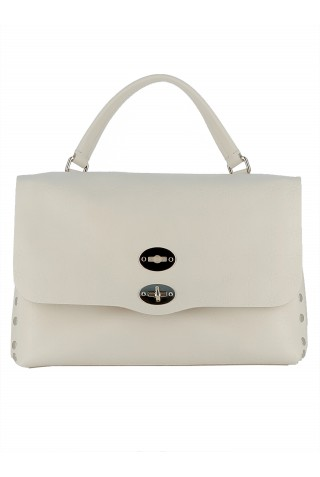 ZANELLATO 6134-67-V1 WOMEN'S ORZATA LEATHER HANDBAG