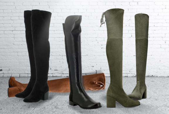 Hurry up, fans of Stuart Weitzman lowland boots. Highland boots and 5050 boots are on sale!