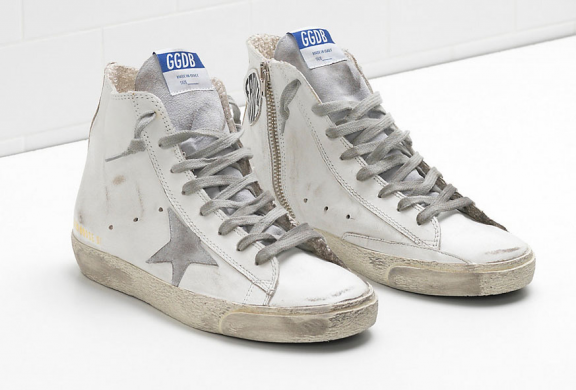Womens high top sneakers: Go with Golden Goose