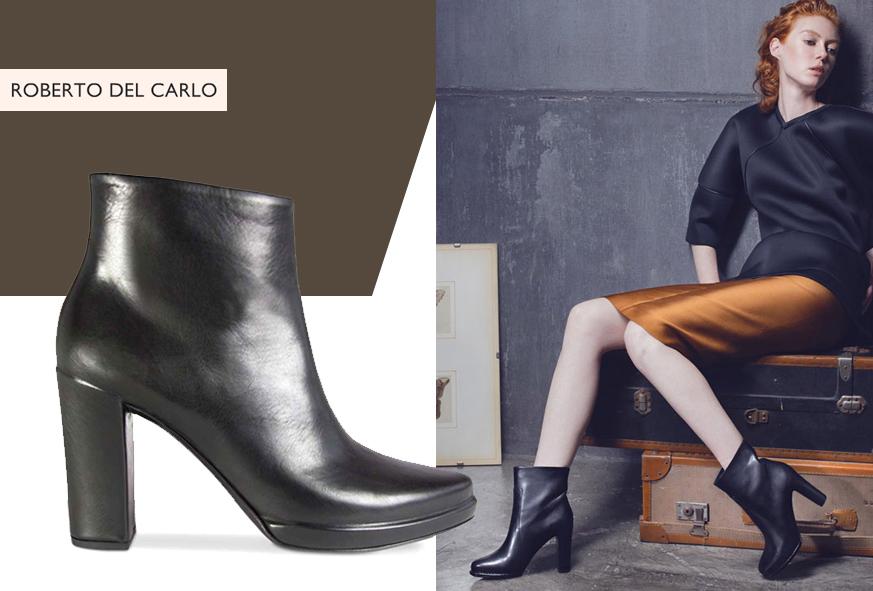 FOOTWEAR - Shoe boots Roberto Del Carlo A9cE6OyRCa